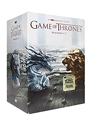 Game of Thrones: The Complete Seasons 1-7 DVD, 2017 34 Disc