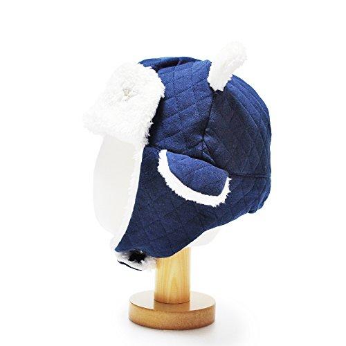 HappyTree Kids Baby Winter Warm Fleece Coif Hood Earflap Hat (Cute Cuples)