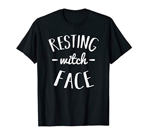 Resting Witch Face Shirt - Funny Halloween Pun