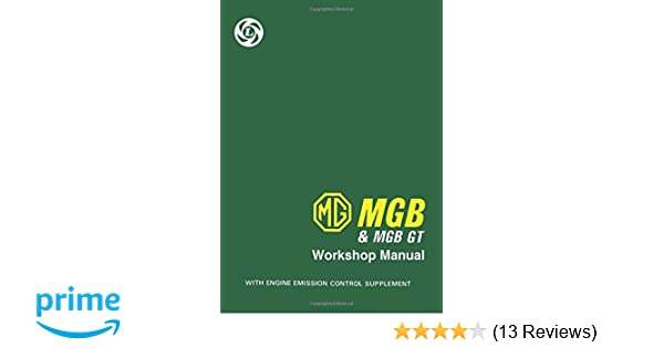 Workshop pdf mgb manual