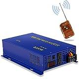 XYZ INVT 3000W Pure Sine Wave Inverter - 12V DC to 120V AC Surge 6000 Watt Power Converter Generator w/Wireless 100ft Remote Control for Solar System, Home Grid Off, Camping, RV. (3000W 12V 120V) …