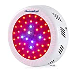 Roledro LED Grow Lights, 300W UFO LED Indoor Patio Plants Grow Lamp with Timer Red Blue Spectrum Hydroponics, Plant Kit for Home Grower