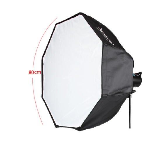 Godox Photo Studio Octagon Umbrella Softbox 80cm with Bowens Mount For speedlite