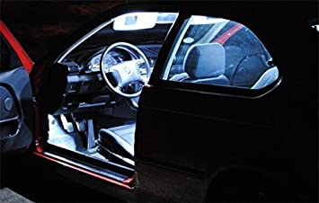 9x LED interior iluminación Qashqai Set Bombilla Lámpara Tuning Xenon Blanco: Amazon.es: Coche y moto