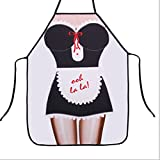 Gift Sexy Funny Novelty Naked Woman Men Kitchen Cooking BBQ Party Apron