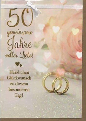 Tarjeta de felicitación bodas de oro 50 años Común lleno de amor ...