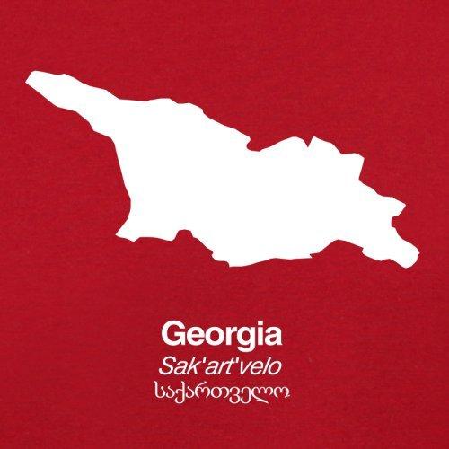 Georgia Retro Silhouette Flight Bag Red wwgZq