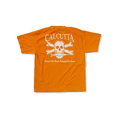 - Calcutta Unisex Child Original Logo Kids Short Sleeve Tee (Orange, Small)