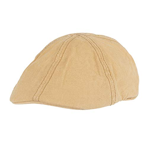- Levi's Men's Ivy Newsboy Hat, tan Casual, Small/Medium