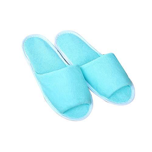 Hoteles Negocios Antideslizantes Portátiles Plegables De Lss Viajes Azul Baños Negocios Desechables El Artículos Zapatillas Zapatos Para Livianas Zapatillas Hogar qxSx67