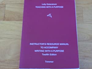 Paperback Teaching with a Purpose Book