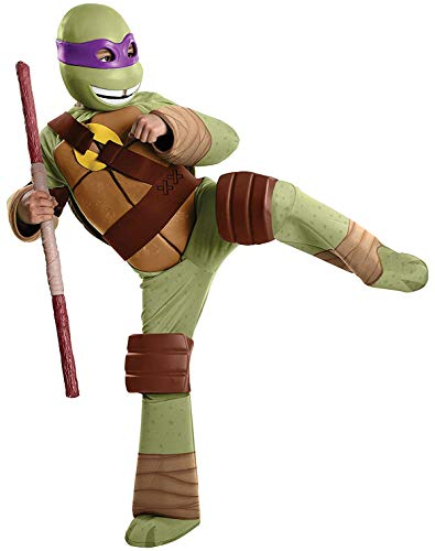 Teenage Mutant Ninja Turtles Deluxe Donatello Costume, Small]()