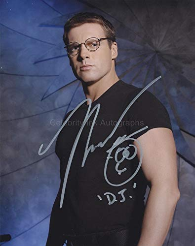 MICHAEL SHANKS as Dr. Daniel Jackson - Stargate SG-1 GENUINE AUTOGRAPH