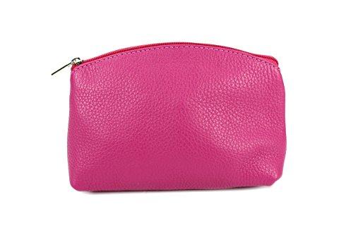 """Bellini"" BELLI westhome pelle TROUSSE compone la Cassa - libera scelta dei colori - 18 x 13 x 5 cm (B x T) Pink Glatt"