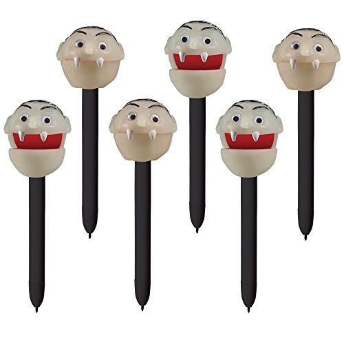 (Educational Insights Halloween Puppet-On-A-Pen Vampire, Set of)