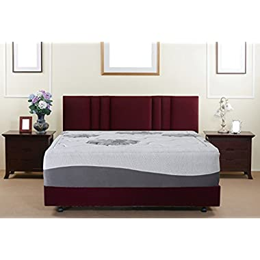 Olee Sleep 12 Inch I Gel Top Tencel Memory Foam Mattress 12FM01K