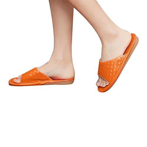 Chaussons TELLW pour Femme Orange Women 04pRqfYgw