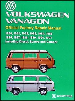 Price comparison product image Volkswagen Vanagon Repair Manual