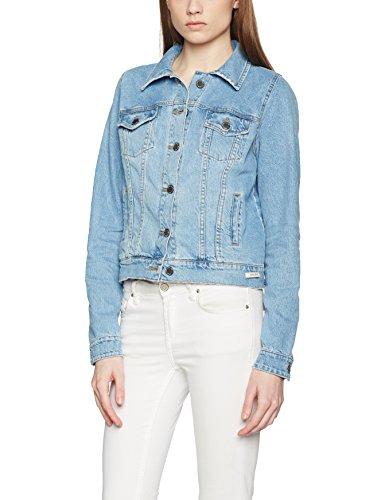 Femme Bleu Denim Jeans Double Basic Agent Blouson 205 zv4EITq