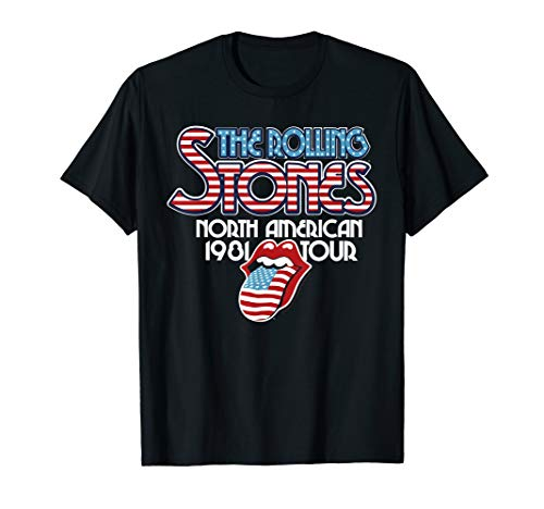 Rolling Stones Official NA Tour 1981 T-shirt