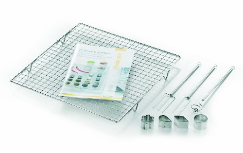 (Birkmann Pralines And Confectionery Praline Set, Stainless Steel, Silver, 9-Piece )