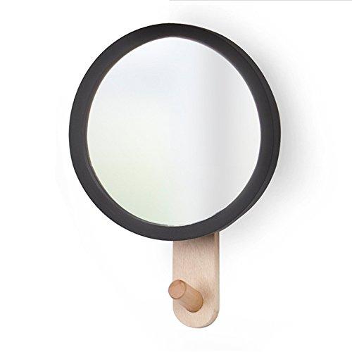 CNMDGBWY Creative Espejo de Pared Gancho Perchero Simple ...