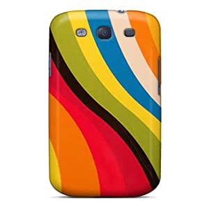 New Arrival Cover Case With Nice Design For Galaxy S3- Sun Color
