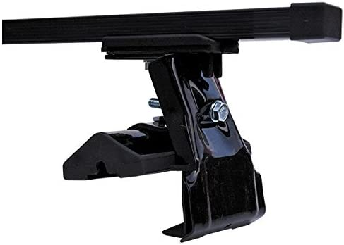 Fix Point Only Heavy Duty Black Steel Storage /& Transport Car Roof Rack Bars to fit Bmw 3 Series E90 Coupe 2006-2011