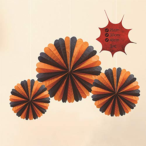 Shan-S Halloween Hanging Toy, Cute Fashion Halloween Spider Pumpkins Pendant Bar Atmosphere Decorated Paper Decorate Hang Indoor/Outdoor Party Ceiling Hanging Decor Toy Kids Gifts