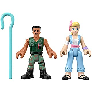 Fisher-Price Disney Pixar Toy Story 4 Combat Carl and Bo Peep
