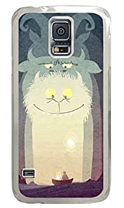 Monsters Clear Hard Case Cover Skin For Samsung Galaxy S5 I9600 by Maris's Diary