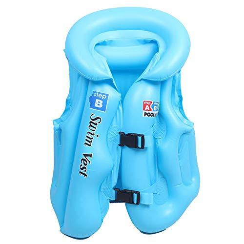 Sealive Child Life Jacket Inflatable Swim Vest Youth Fishing Life Vest, Aquatics Jacket Style Zippered Snorkel Vests Kayak Life Jackets for Kids