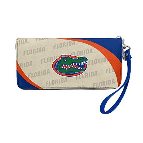 NCAA Florida Gators Curve Zip Organizer Wallet