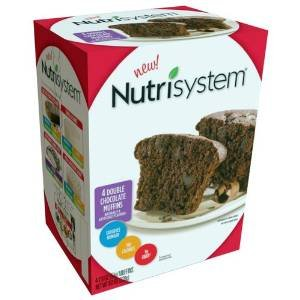 Nutrisystem Double Chocolate Muffins, 2oz 4 Count