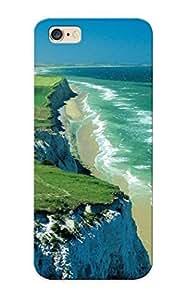 New Green Grass Blue See In France Tpu Case Cover, Anti-scratch Runandjump Phone Case For Iphone 6 Plus