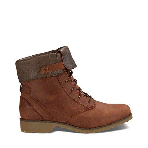 Teva Women's W Delavina Boot, Adobe Brown, 6 M US by Teva