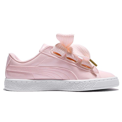 Puma Mujeres Basket Heart Patent Wns, Pearl Pearl