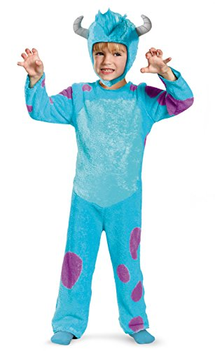 Monsters Inc Boo Costume Disney (Official Disney/Pixar Monsters, Inc. Sulley Child/Toddler Costume (3T/4T))
