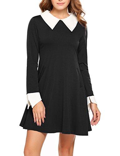 Sheer Little Black Dress - 9