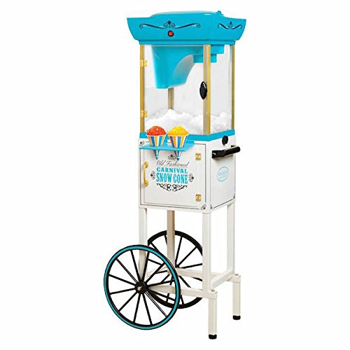 Nostalgia Electrics Vintage Collection Snow Cone Cart, Snow Cone Machine