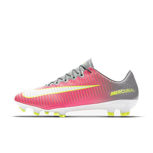 NIKE Womens Mercurial Vapor Xi FG Cleats [Hyper Pink] (7.5) by NIKE