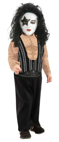 Toddler Kiss The Starchild Costume Size 2-4T