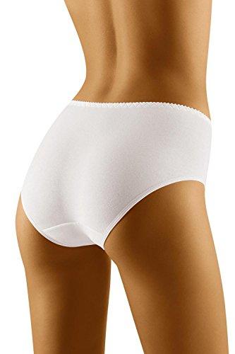 Wolbar Damen Maxi-Slip WB180, weiß,XX-Large