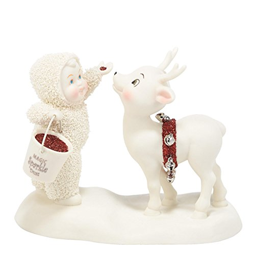 Department 56 Snowbabies Classics Sprinkle of Magic Figurine, 4.25 inch