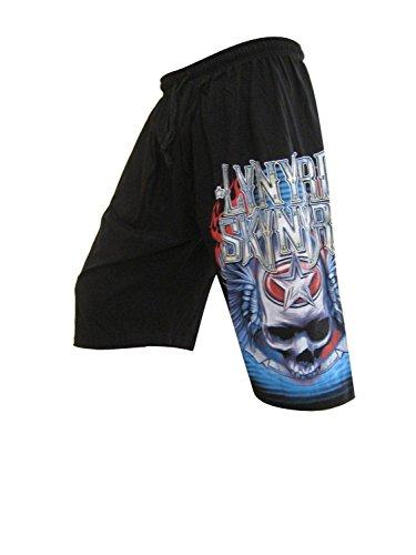 lynyrd-skynyrd-concert-tour-mens-board-shorts-rock-music-free-size-black