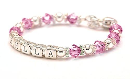 Personalized Baby Charm Bracel