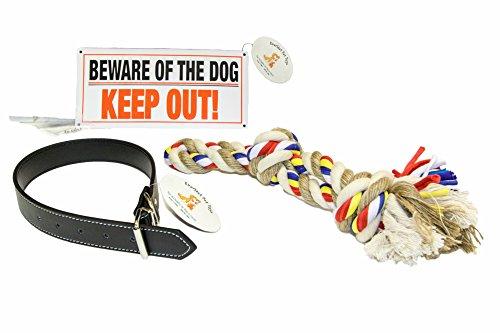 EMG Pet Emporium Dog Collar & Chew Rope Bundle PLUS Large Dogs | 24