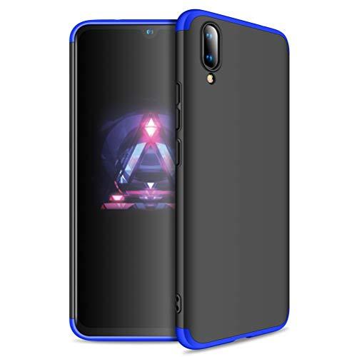 Case for Vivo V11, GUANHAO 3 in 1 360 Degree Protection Hard PC Light Thin Anti-Fingerprint Impact Resistance Non-Slip Fashion Smartphone Case for Vivo V11 / V11 Pro 6.41