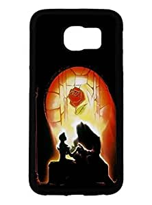 Personality customization Modern Design for Samsung Galaxy S6 Case, Beauty and the Beast At F5588 Cases