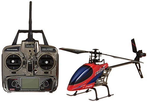Flybarless Helicopter - ICS CIS Flybarless Helicopter, Medium/21, Red